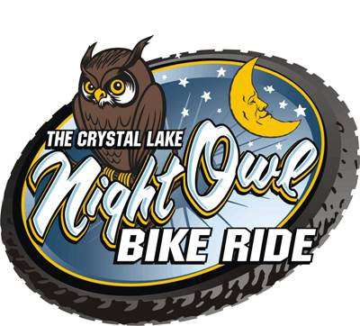 Bikes Crystal Lake Il Night Owl Bike Ride Logo